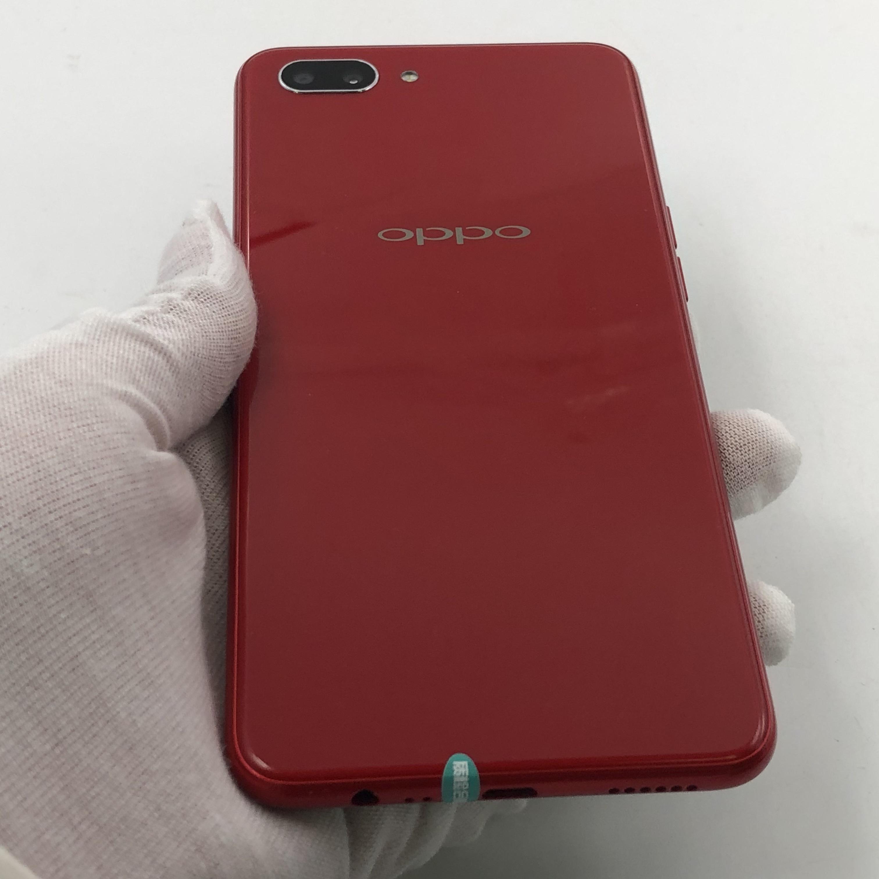 oppo【A5】4G全网通 红色 3G/64G 国行 95新
