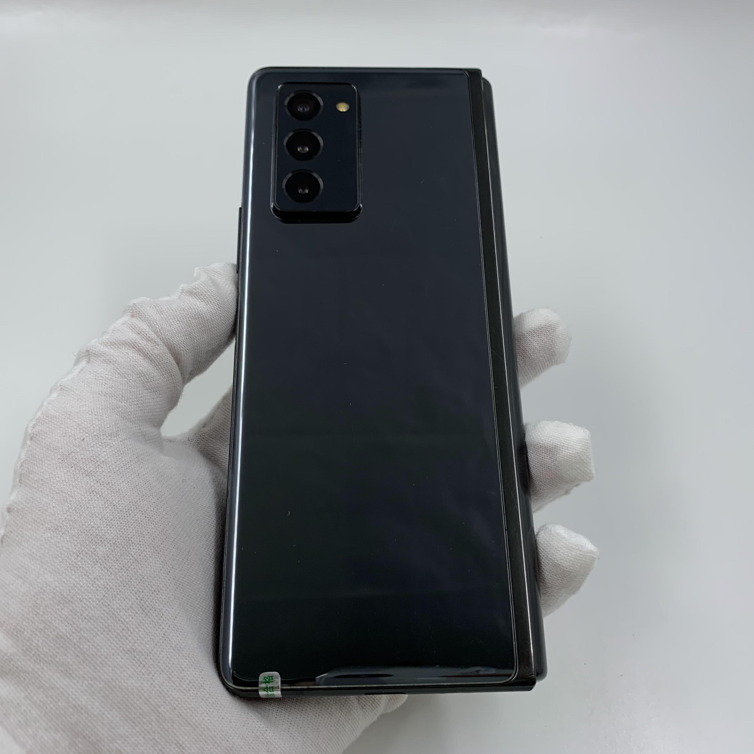 三星【Galaxy Z Fold2 5G】5G全网通 松烟墨 12G/512G 国行 8成新 真机实拍