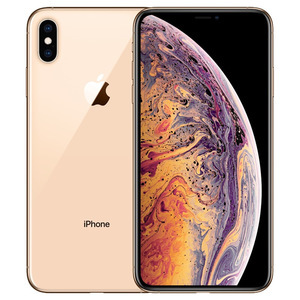 苹果【iPhone Xs Max】64G 95新  全网通 国际版 金色