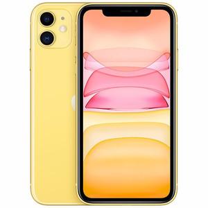 苹果【iPhone 11】64G 95新  全网通 国行 黄色高性价比