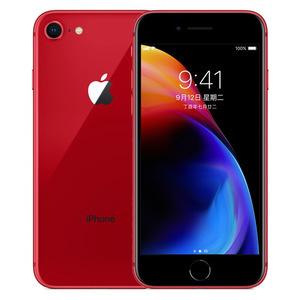 苹果【iPhone 8】全网通 红色 64G 国行 7成新 真机实拍