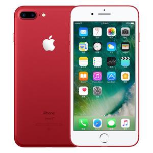 苹果【iPhone 7 Plus】全网通 红色 128G 国行 8成新 真机实拍