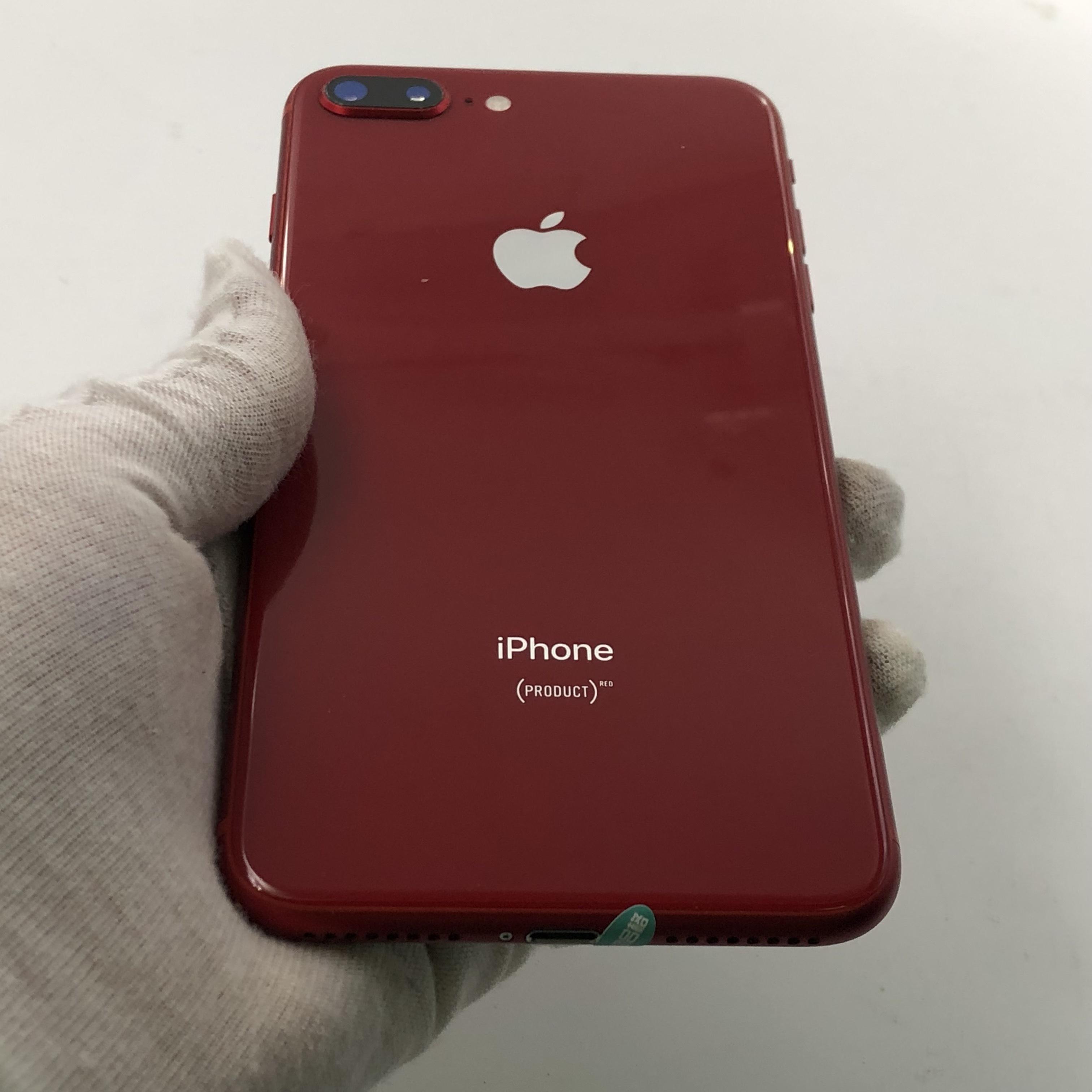 苹果【iPhone 8 Plus】4G全网通 红色 64G 国行 95新