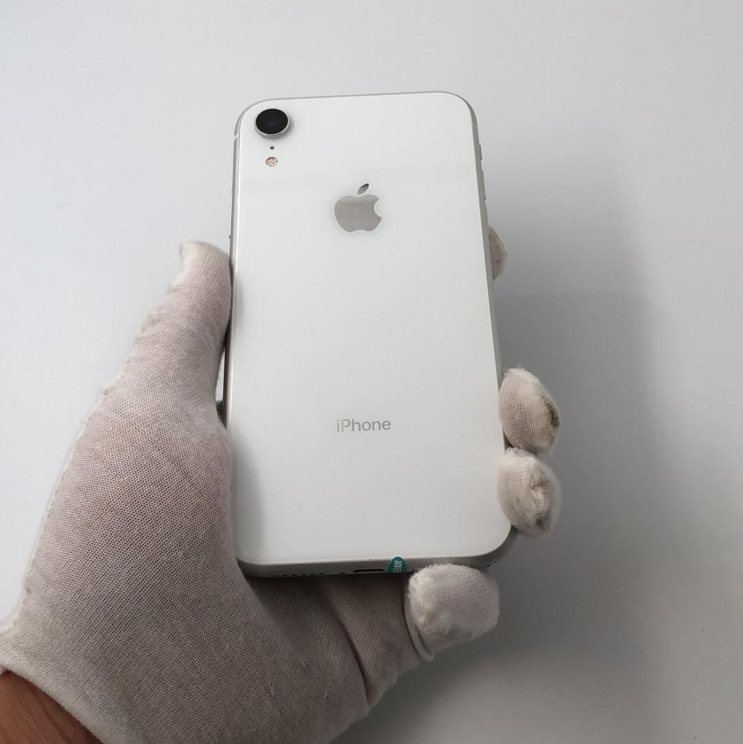 苹果【iPhone XR】全网通 白色 128G 国行 9成新