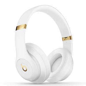 3C数码【Beats Studio3】99新  国行 无线蓝牙 白色头戴式降噪游戏耳机