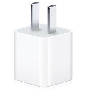 苹果【苹果5W USB 电源适配器】99成新  白色 苹果原装充电头5W充电器配件