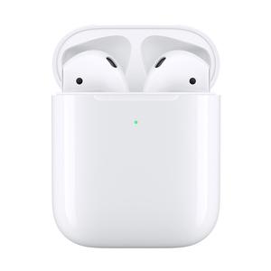 苹果【AirPods 2代 无线版】95成新  国行 白色蓝牙耳机备件库全套不支持优惠
